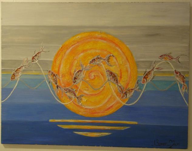 peixos al trenc d´alba (peces al amanecer)
