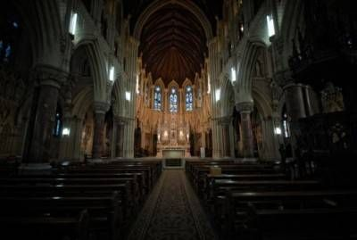 St.Colman's Cathedral I Arquitectura e interiorismo Blanco y Negro (Digital)