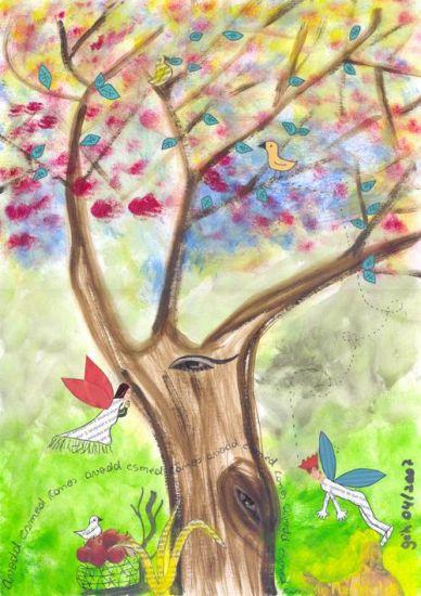 Árvore da vida Paper Landscaping