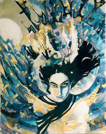 Lilith Acrílico Lienzo Figura