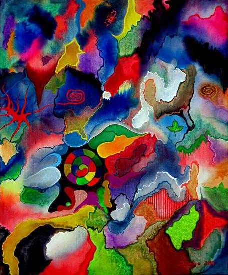 nebulosas de color