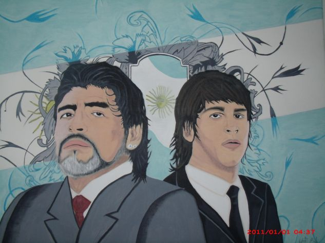 idolos Canvas Acrylic Portrait
