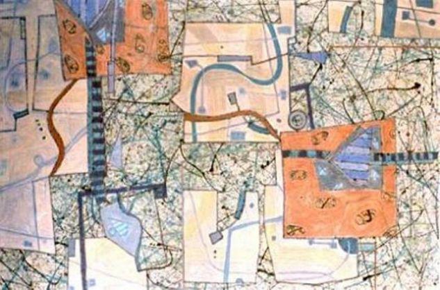 Composition III-03 Lienzo Media Mixta Otros