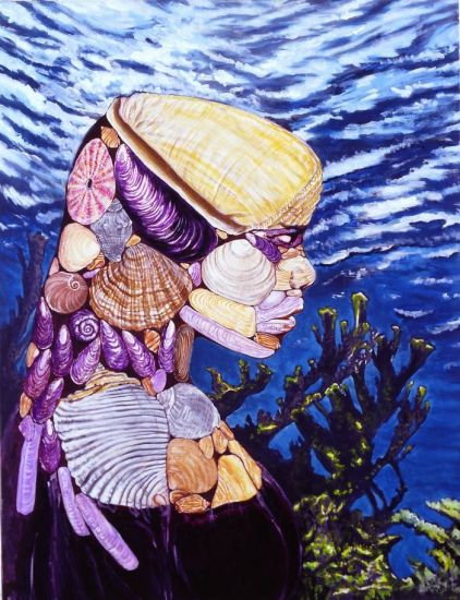 señora de huaca - concha