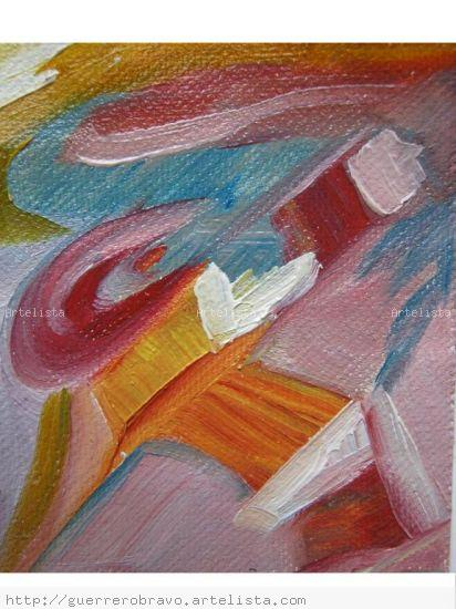 caos Oil Canvas Figure Painting