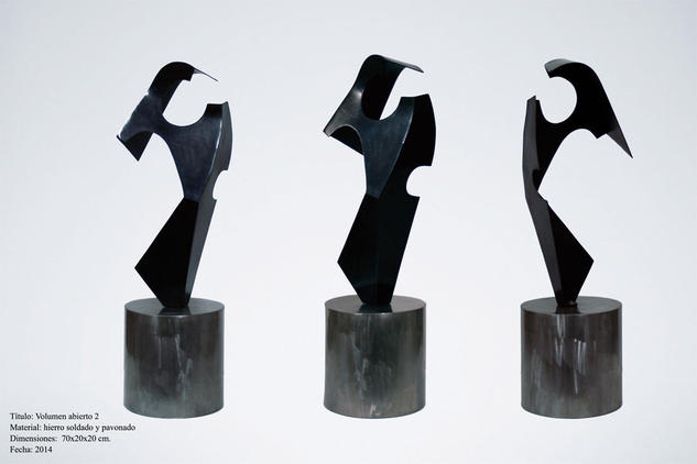 Volumen abierto 2 Metal Abstracta