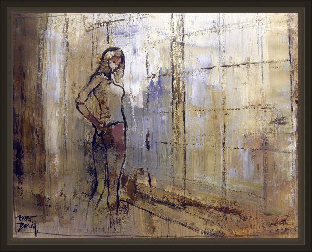 PINTURAS-EROTICAS-PINTURA-EROTICA-MUJERES-PINTOR-ERNEST DESCALS Card Oil Nude Paintings
