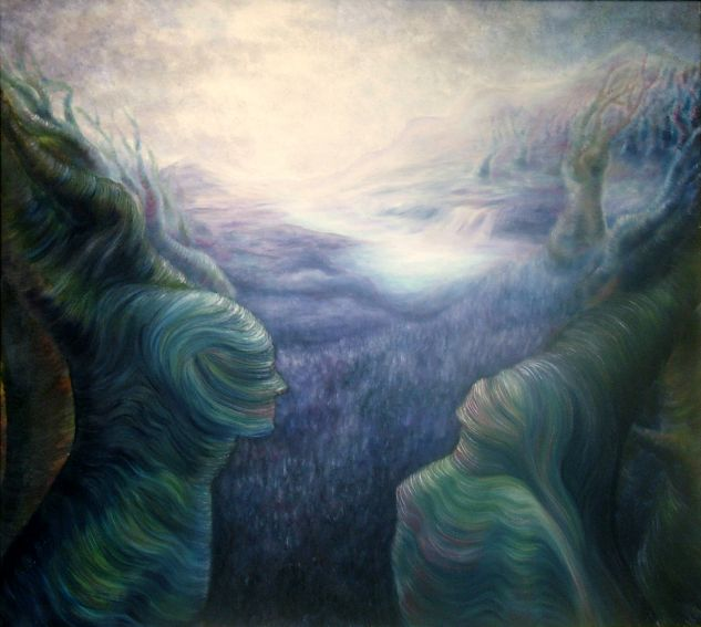 Awakening Canvas Oil Others