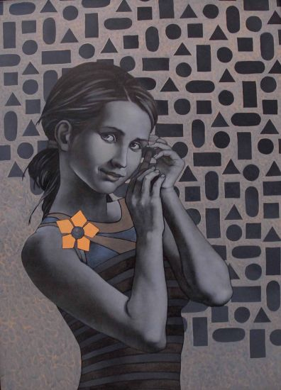 Utopía Oil Canvas Portrait