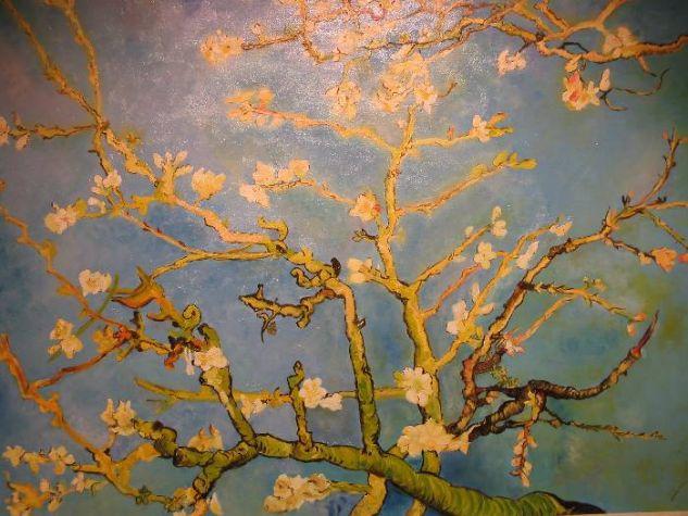 Ramas de almendro en flor (Van Gogh) Óleo