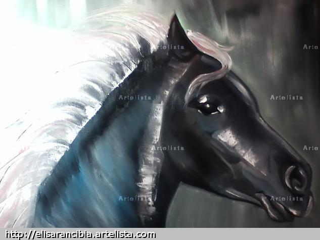 Horse Others Oil Canvas
