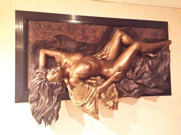 mujer desnuda Bronce Figurativa
