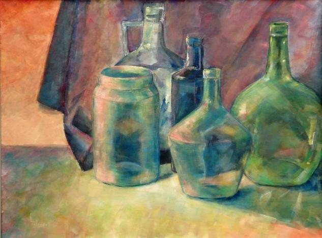 Cristal Canvas Acrylic Still Life Paintings