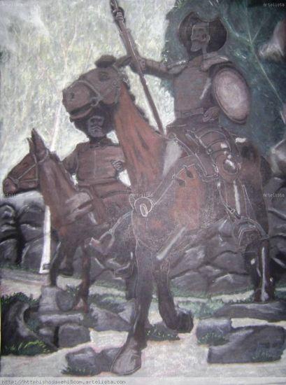 Don Quijote y su fiel amigo