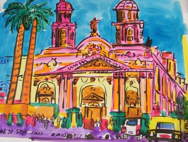 catedral de santiago Tinta Papel Otros