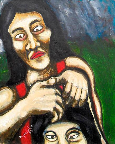 La piojosa Others Oil Portrait
