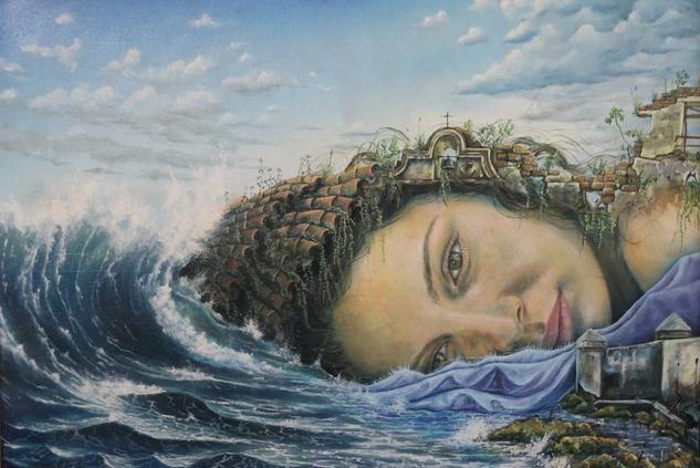 inmortal Portrait Oil Canvas