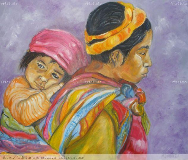 madre con su hija o hijo.