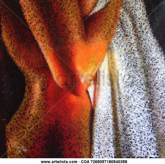 la dama de la toalla