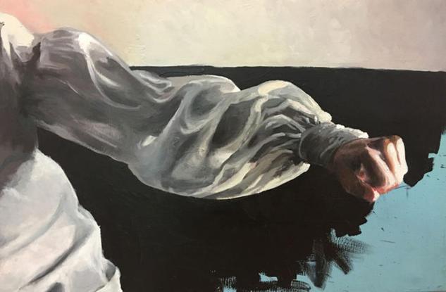 Divina Comedia Figure Painting Acrylic Canvas