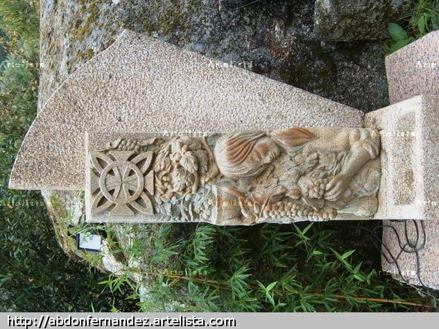 Alegoria o Ribeiro Stone Figurative