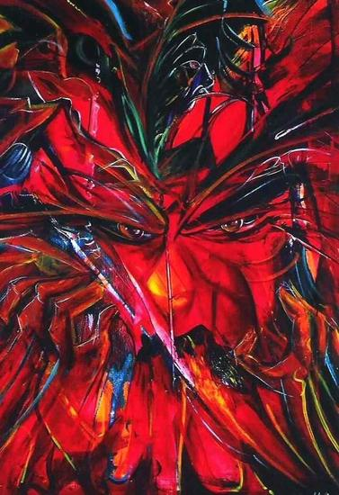 LA FURIA Canvas Acrylic Figure Painting