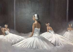 bailarinas de ballet.