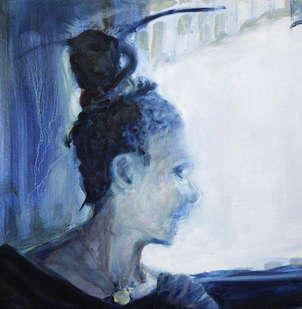 in blue: light