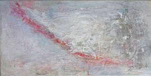 línea roja sobre blanco