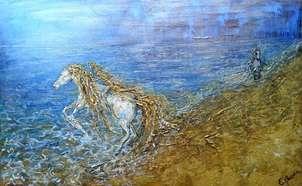 de arena y mar