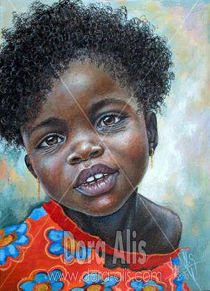 niña de africa 93