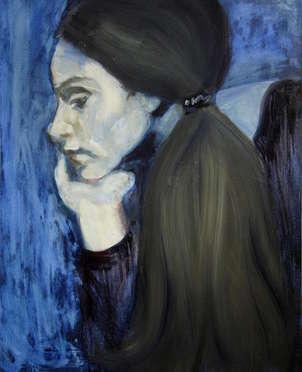 in blue: melancholy