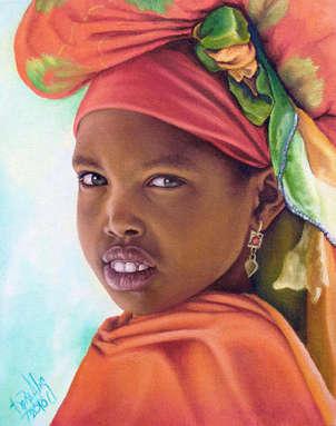 niña de áfrica 18