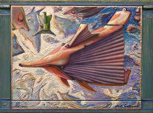 el pez bramidos - ( enmarcado )