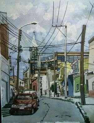 calle de valparaiso (chile).