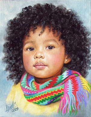 niña de raza negra 9