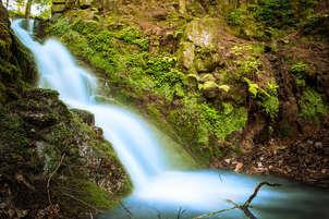 the mystic waterfall (cascada mística)