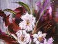 El jarrón de flores
