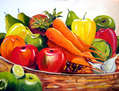 Colourful Fruits Composition