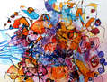 Confetti abstract by E.Bissinger