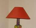 LAMPARA de BOTELLA DE CRISTAL
