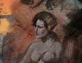 Perseo liberando a andrómeda (detalle de la princesa cautiva)
