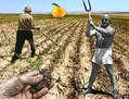 Los agricultores (preparando la tierra...)