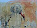 Mujer en lápiz