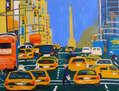 Taxis en Manhattan