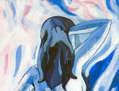 Mujer azul (I)