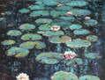 NENÚFARES 5 - Pensando en Monet.