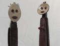 Esculturas Afrobrasileiras - Adão e Eva