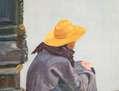 Paris - Mujer en el Centro Pompidou