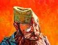 Retrato del  subteniente de la Legión José Sánchez Remón